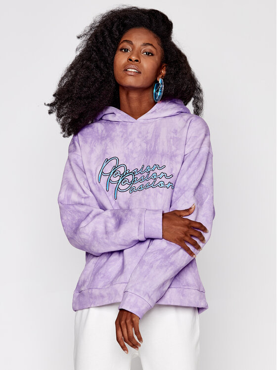 Local Heroes Džemperis Passion AW2021S0005 Violetinė Relaxed Fit