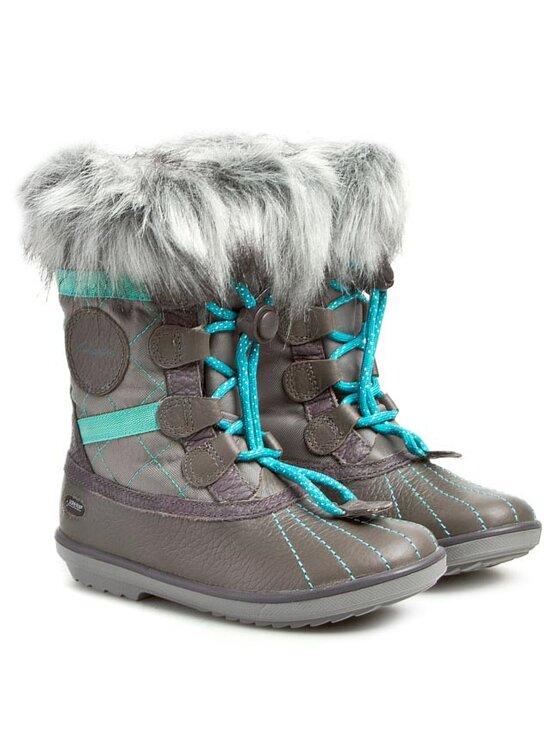 Clarks Clarks Cizme de zăpadă Fab Jump GTX 261025506 Gri