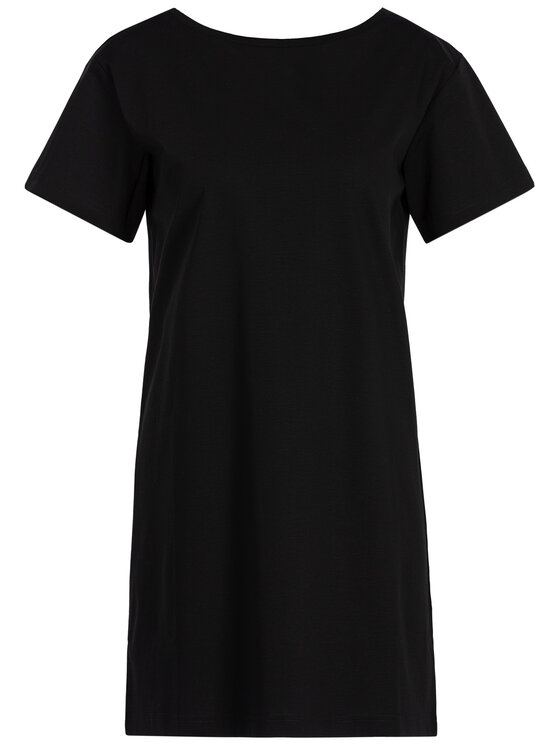 Diesel Diesel Ежедневна рокля 00SWP6 0QANW Черен Regular Fit