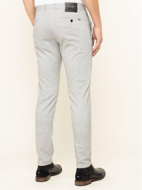 Joop! Jeans Joop! Jeans Medžiaginės kelnės Steen 30017314 Pilka Slim Fit