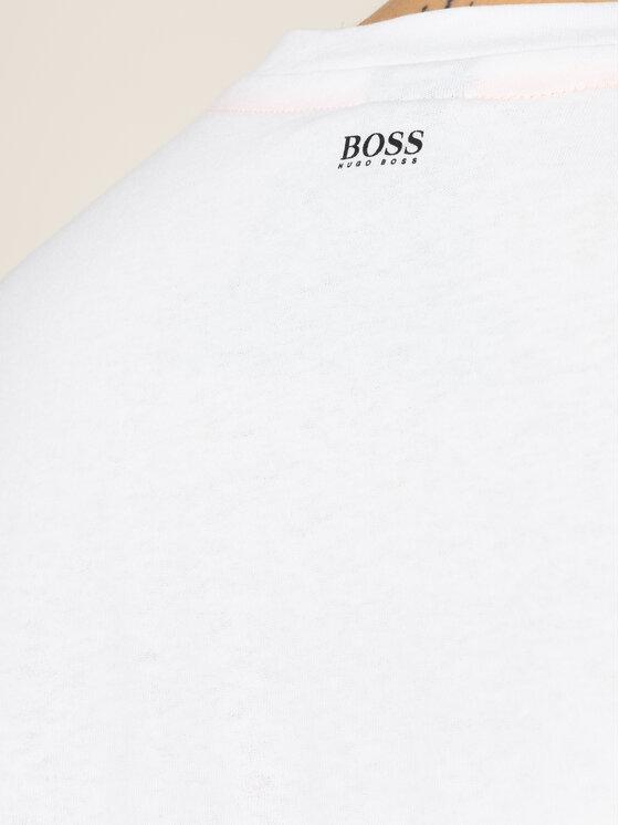 Boss Boss Marškinėliai Troaar 2 50427904 Balta Regular Fit