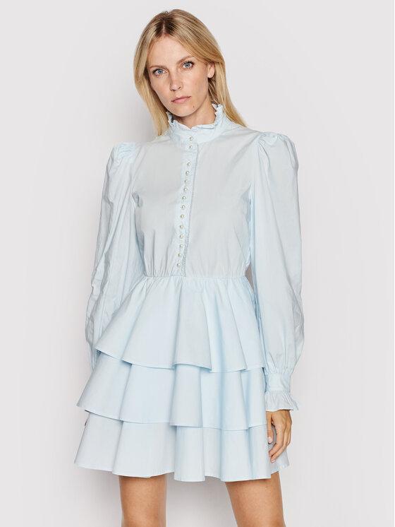 Custommade Kokteilinė suknelė Lydia 212369403 Mėlyna Regular Fit