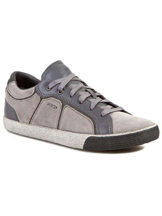 Geox Geox Sneakersy U Smart S U34X2S 022CN C9007 Sivá