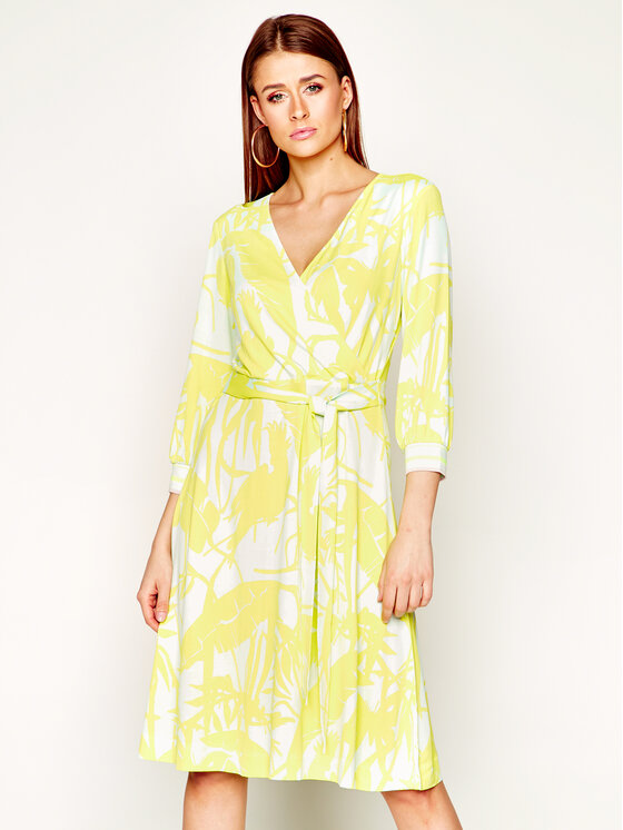 Laurèl Kasdieninė suknelė 11038 Geltona Regular Fit