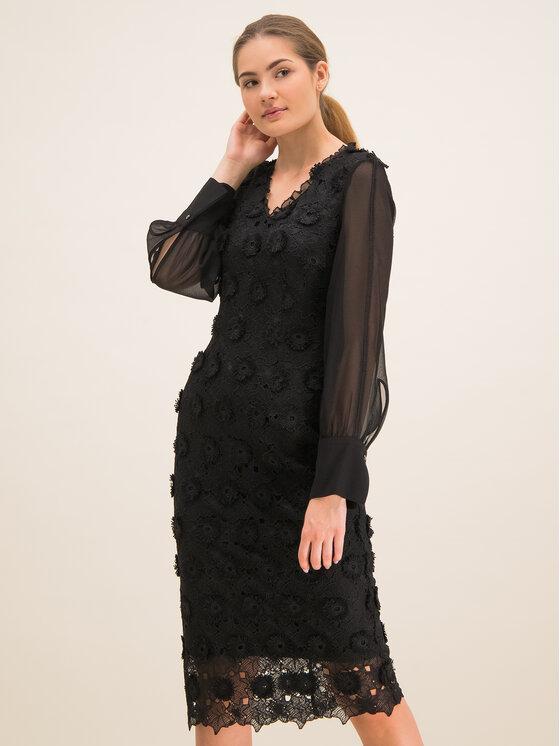 Laurèl Kokteilinė suknelė 11001 Juoda Regular Fit