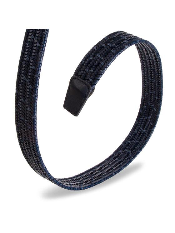 Baldinini Baldinini Pánský pásek 974026RIRY1017XXXXX 90 Tmavomodrá