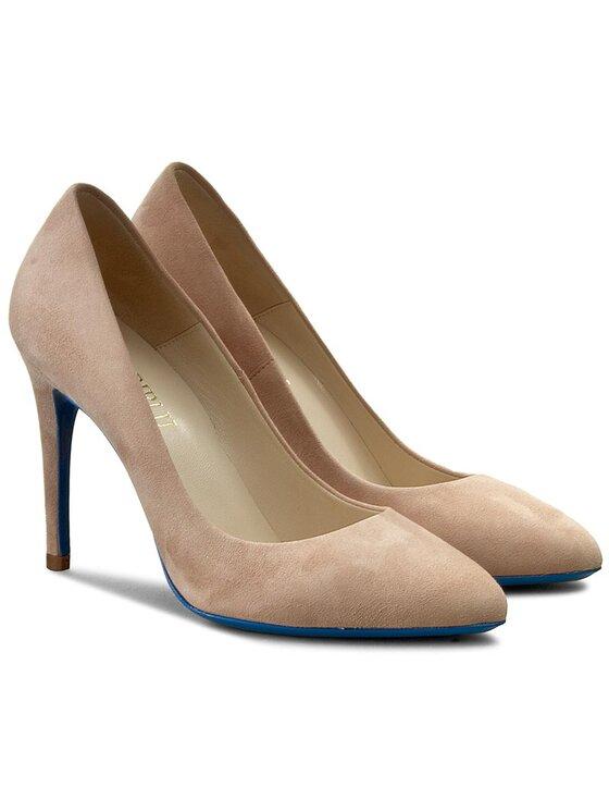 Loriblu Loriblu Обувки на ток 7E 249001 2C Бежов