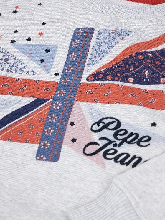 Pepe Jeans Pepe Jeans Bluza Dalia PG581037 Szary Regular Fit