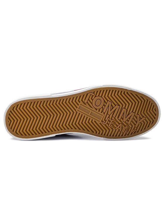 Tommy Jeans Tommy Jeans Mokasinai Denim Hybrid City Sneaker EM0EM00270 Tamsiai mėlyna