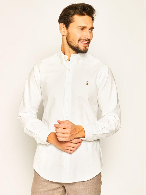 Polo Ralph Lauren Koszula Core Replen 710792041 Biały Custom Fit