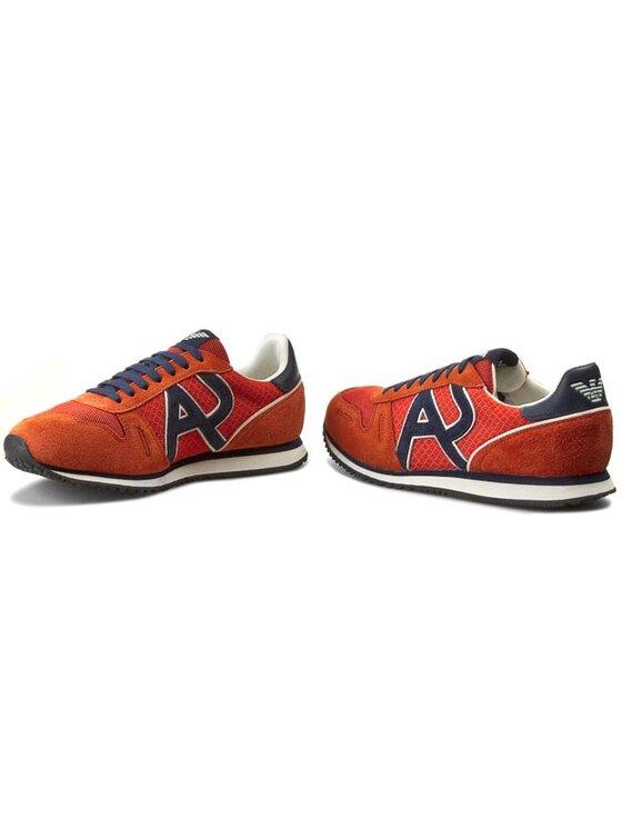Armani Jeans Armani Jeans Laisvalaikio batai A6506 13 U9 Oranžinė