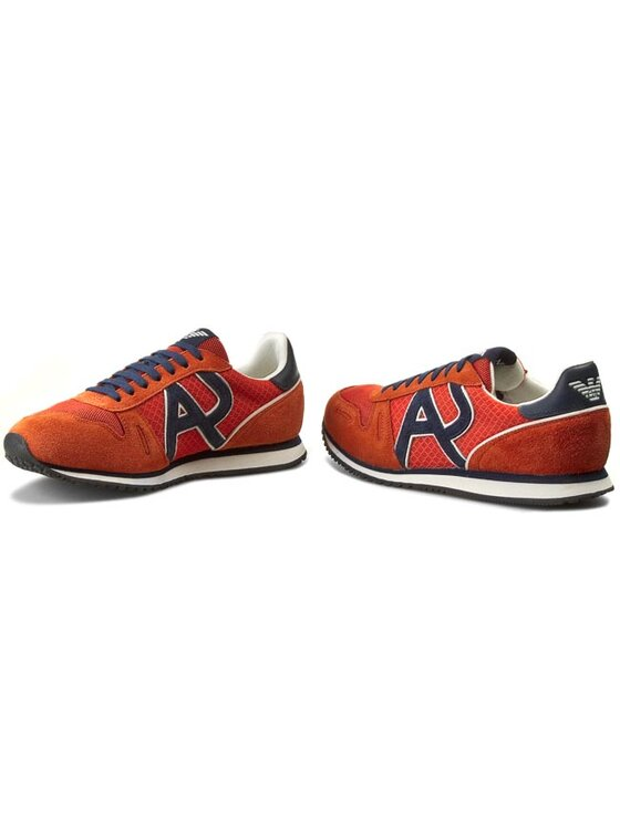 Armani Jeans Armani Jeans Sneakers A6506 13 U9 Orange