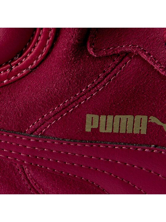 Puma Puma Сникърси Puma Vikky Wedge 357246 09 Виолетов