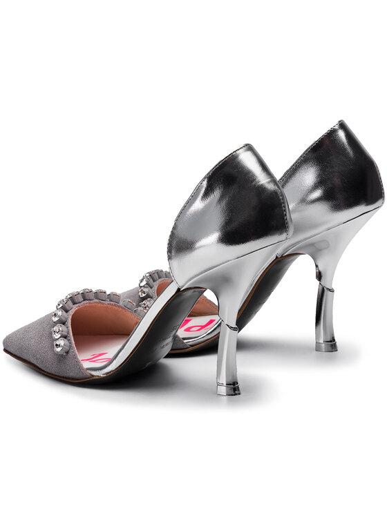 Patrizia Pepe Patrizia Pepe Pantofi cu toc subțire 2V8980/A5L8-S298 Gri