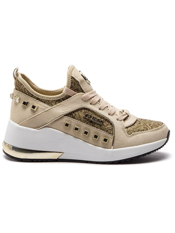 Guess Guess Sneakersy Julyann FL5JUL FAL12 Beżowy