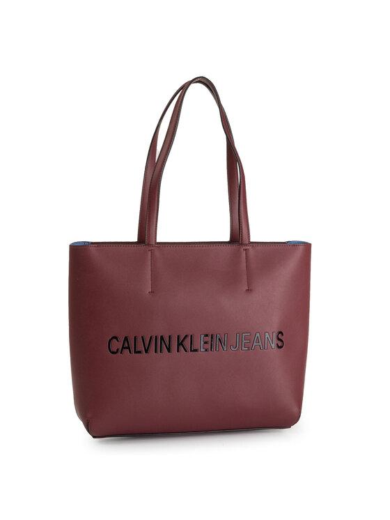 Calvin Klein Jeans Calvin Klein Jeans Torebka Sculpted Ew Tote 29 K60K605790 Bordowy