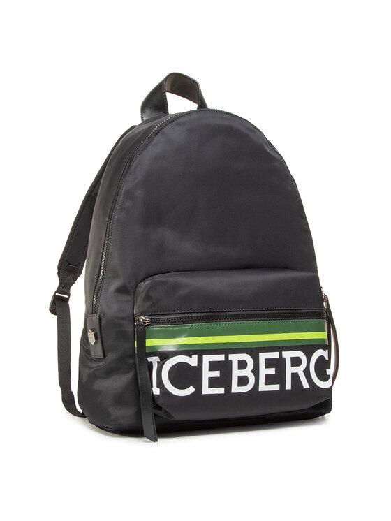 Iceberg Kuprinė 8X Borsa 20lP1P1 7209 6963 9000 Juoda