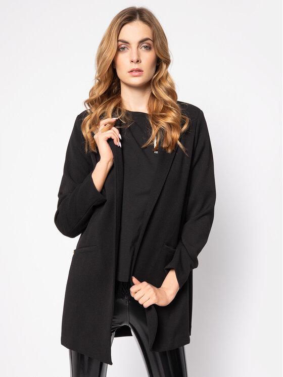 Manila Grace Manila Grace Átmeneti kabát K230AJ Fekete Regular Fit