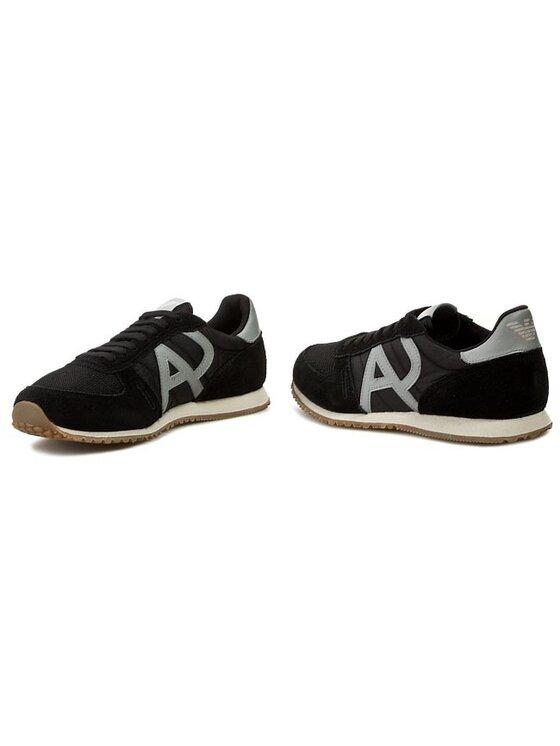 Armani Jeans Armani Jeans Pantofi Z6524 26 12 Negru