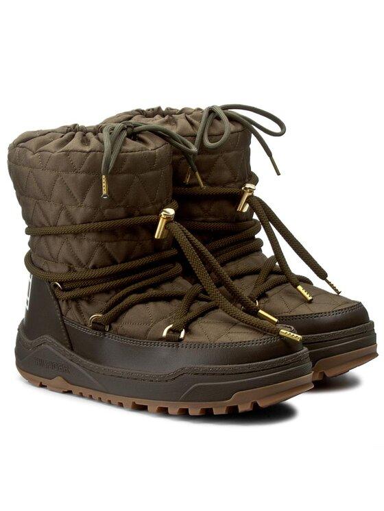 Tommy Hilfiger Tommy Hilfiger Παπούτσια Wanda 6D FW56822020 Πράσινο