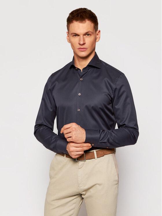 Stenströms Marškiniai 784111 2395 Tamsiai mėlyna Slim Fit