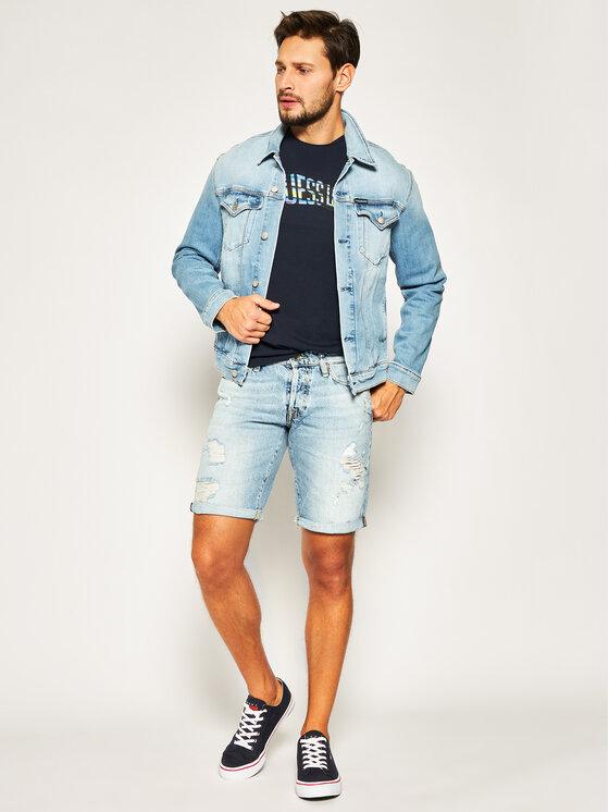 Guess Guess Jeansshorts M02D01 D3ZJ1 Blau Regular Fit