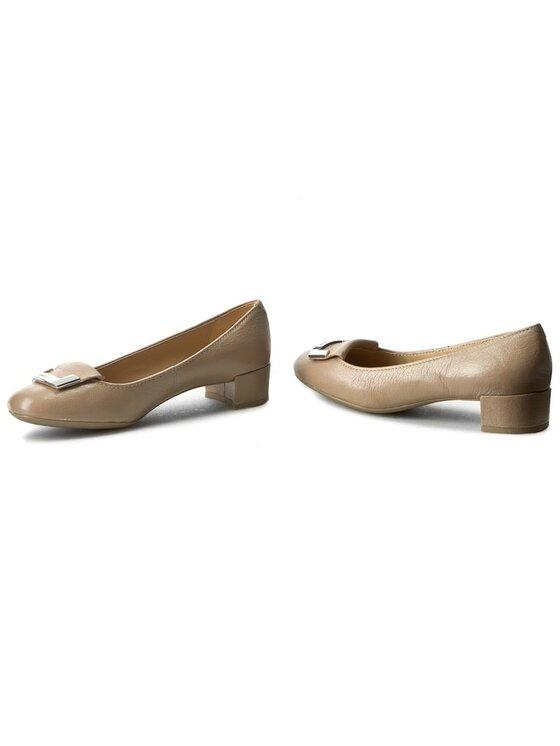 Geox Geox Κλειστά παπούτσια D Carey A D52V8A 000QL C6738 Μπεζ