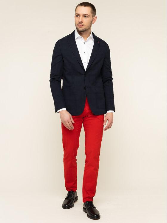 Tommy Hilfiger Tailored Tommy Hilfiger Tailored Текстилни панталони Flex TT0TT06924 Червен Slim Fit