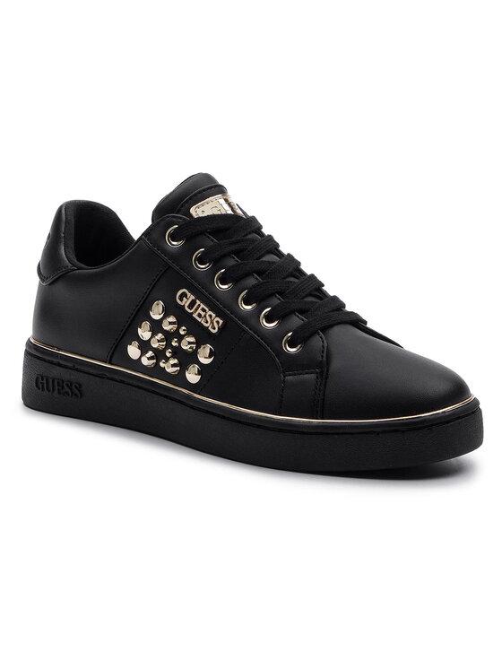 Guess Guess Sneakersy Brandia FL7BRA ELE12 Czarny