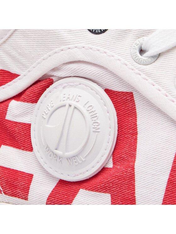 Pepe Jeans Pepe Jeans Scarpe da ginnastica Industry Logo PMS30538 Bianco