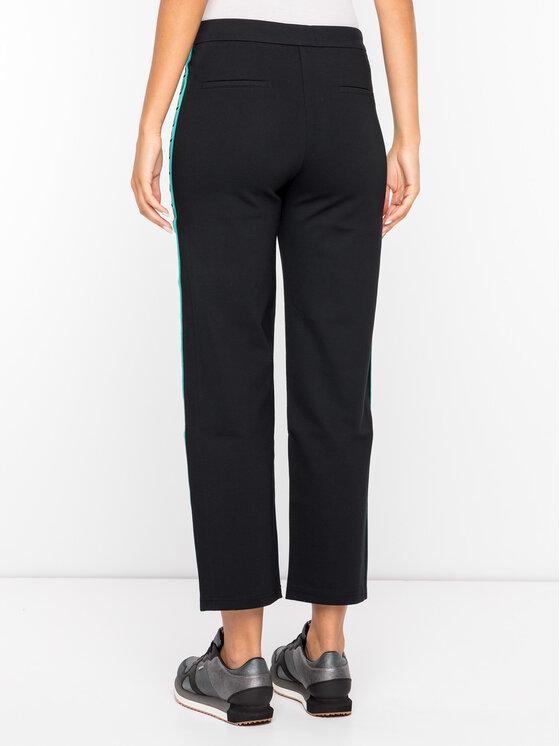Pepe Jeans Pepe Jeans Pantaloni din material Rose PL211336 Negru Regular Fit