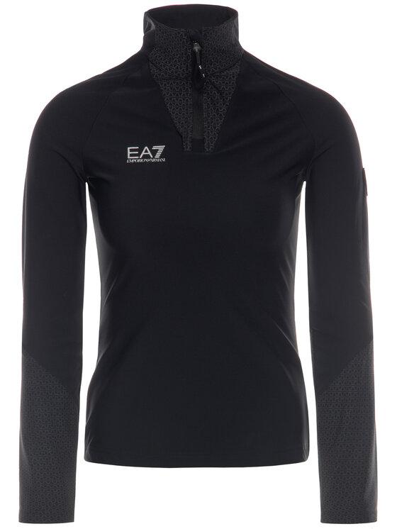 EA7 Emporio Armani EA7 Emporio Armani Bluză 6GTM18 TJ46Z 1200 Negru Slim Fit
