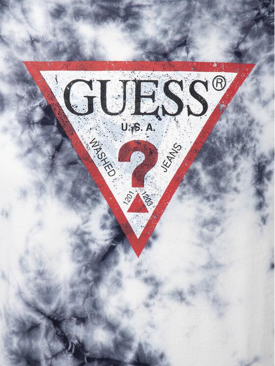 Guess Guess Felpa M92Q36 K81W0 Bianco Regular Fit