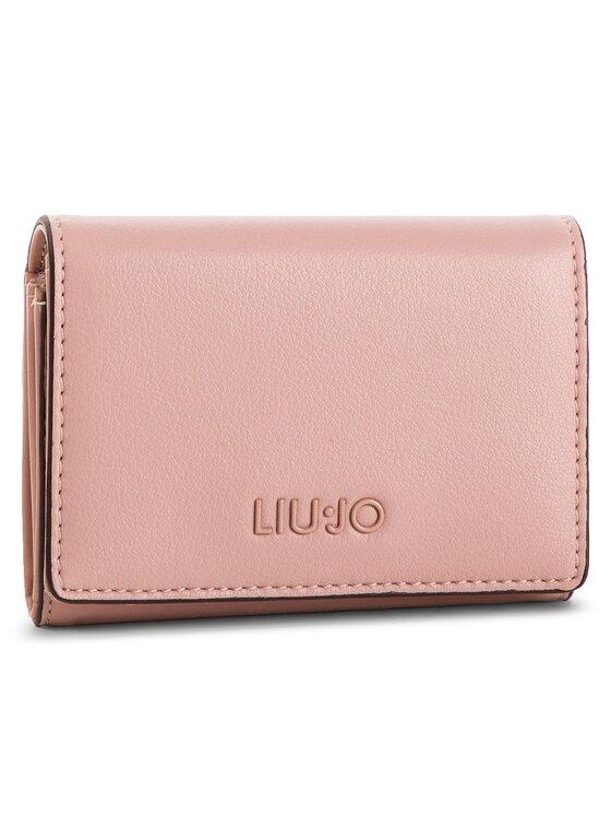Liu Jo Liu Jo Малък дамски портфейл Credit Card Case A19163 E0040 Розов