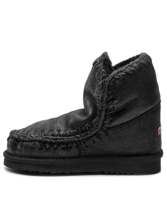 Mou Mou Pantofi Eskimo18 00000017 Negru