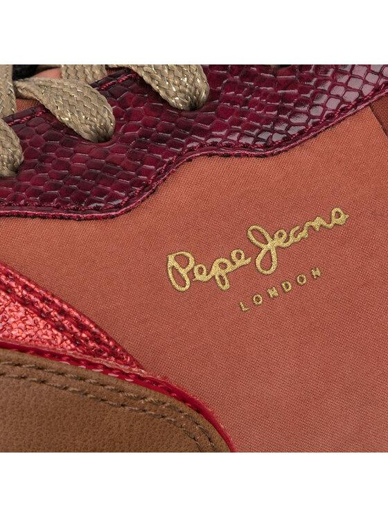 Pepe Jeans Pepe Jeans Sneakersy Dean Mon PLS30885 Pomarańczowy