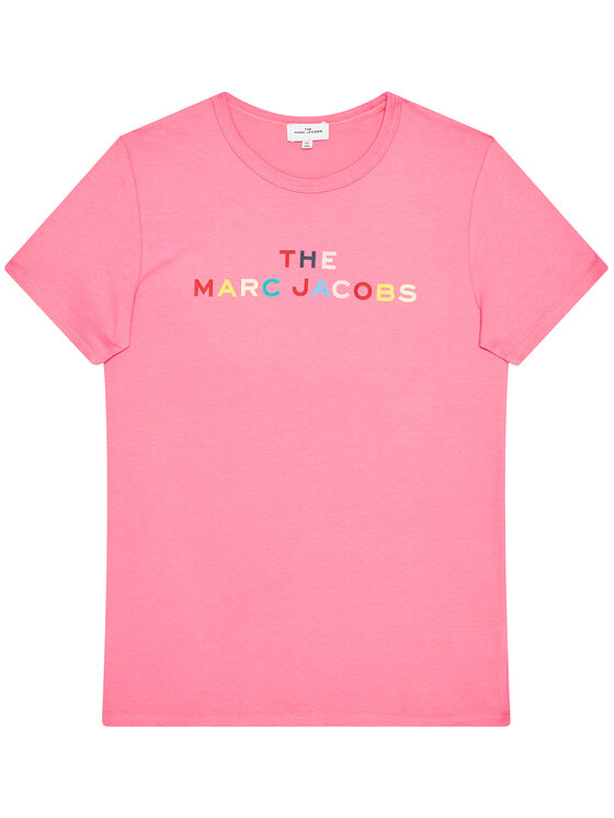 Little Marc Jacobs Little Marc Jacobs T-Shirt W15510 D Różowy Regular Fit