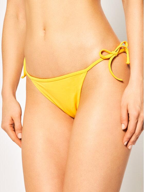 Dsquared2 Bikinio apačia Swim Briefs D6B082440 Geltona