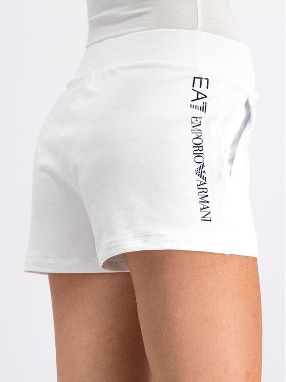 EA7 Emporio Armani EA7 Emporio Armani Sportiniai šortai 3GTS61 TJ31Z 0192 Balta Regular Fit
