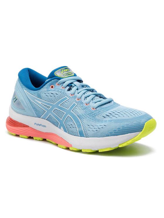 Asics Asics Παπούτσια Gel-Nimbus 21 1012A156 Μπλε