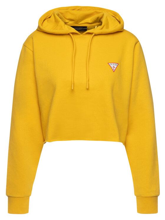 Guess Guess Sweatshirt W94Q56 K8RS0 Jaune Oversize