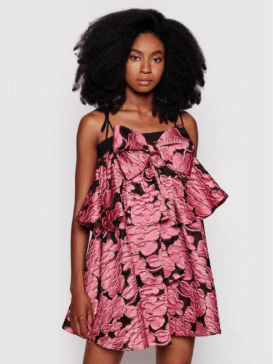 Custommade Kokteilinė suknelė Joanna By Numbers 212386411 Rožinė Regular Fit