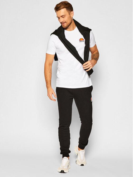 Ellesse Ellesse T-Shirt Canaletto SHS04548 Biały Regular Fit