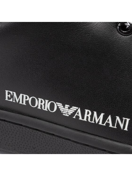 Emporio Armani Emporio Armani Sneakersy X3X061 XL815 A120 Černá