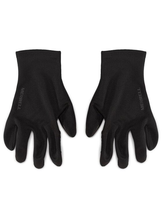 Merrell Merrell Rękawiczki Męskie Stretch Gloves GORE-TEX JAF25302 Czarny