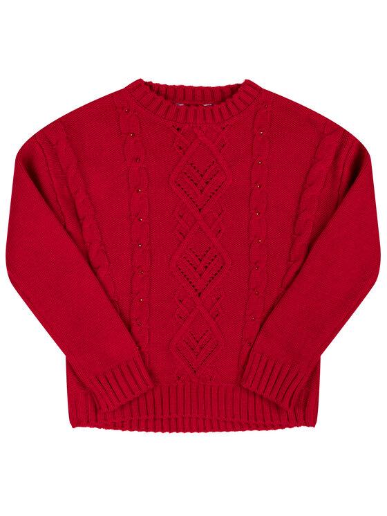 Mayoral Mayoral Sweter 4302 Czerwony Regular Fit