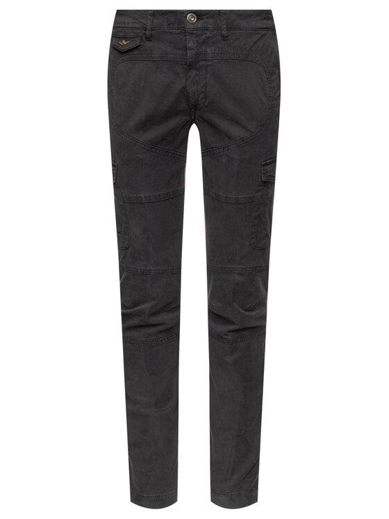 Aeronautica Militare Aeronautica Militare Текстилни панталони 192PA1358CT2053 Черен Regular Fit