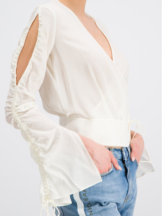 Pinko Pinko Μπλουζάκι PE 19 PBK2 1B13T3 7312 Λευκό Regular Fit
