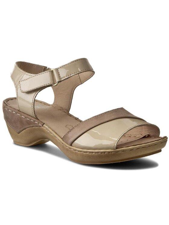Caprice Caprice Sandały 9-28250-26 Beżowy