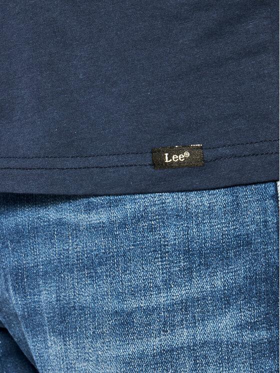 Lee Lee Set di 2 T-shirt Twin Pack Crew L680AILD Multicolore Slim Fit